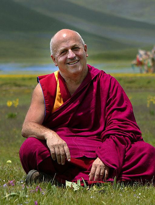 Matthieu Ricard, porte-parole et traducteur du dalaï lama.